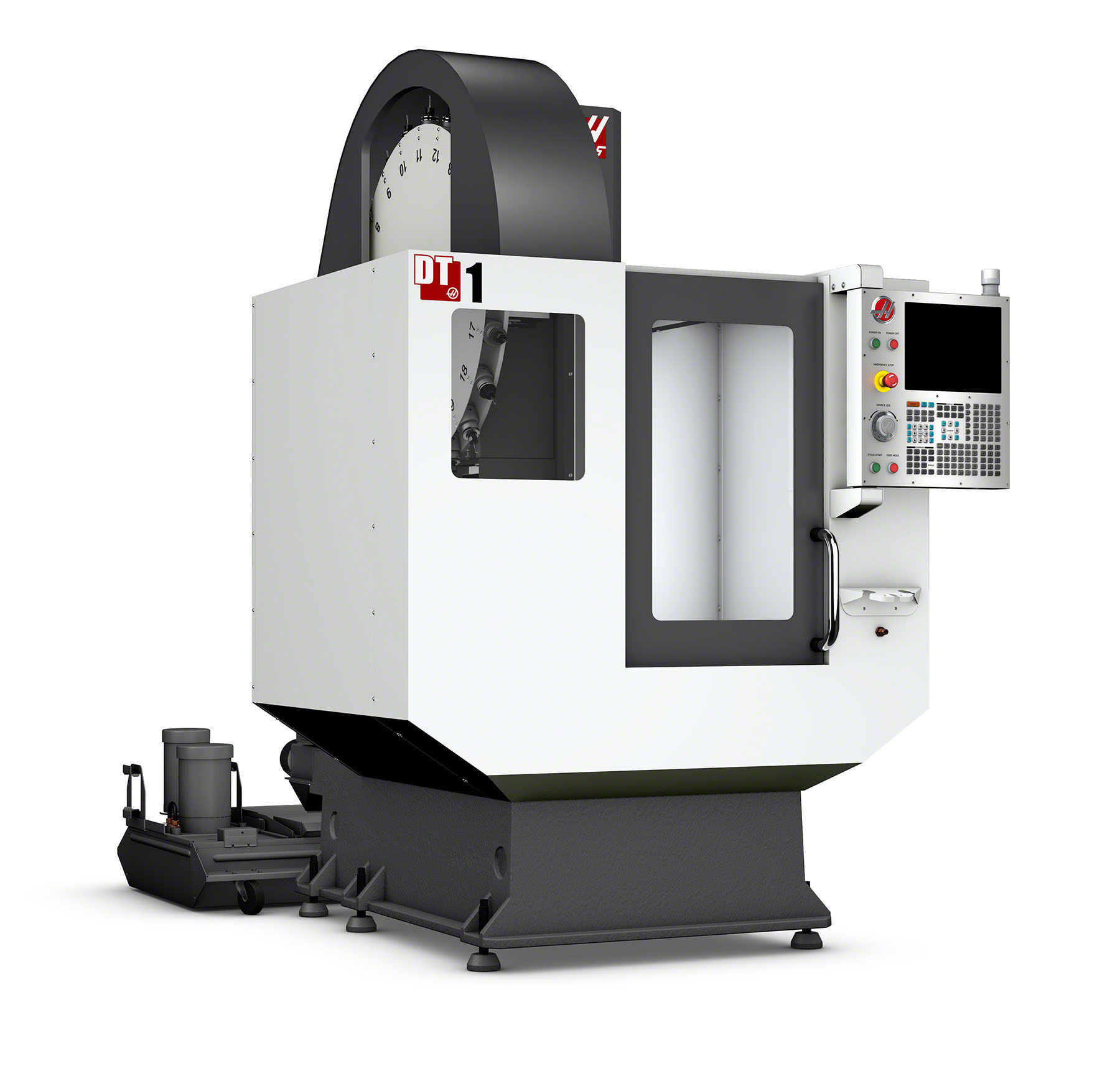 Haas Dt 1 Drill Tap Center Gets 15k Spindle