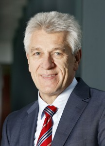 Gerhard Steiger, the president of the Bosch Chassis Systems -Control division