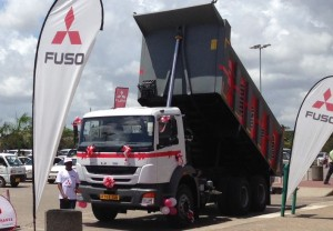 New FUSO trucks from Chennai launched in Zimbabwe