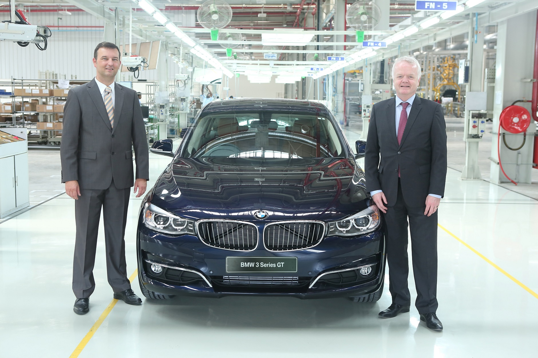 All New Bmw 3 Series Gran Turismo Rolls Out Of Chennai Plant Auto