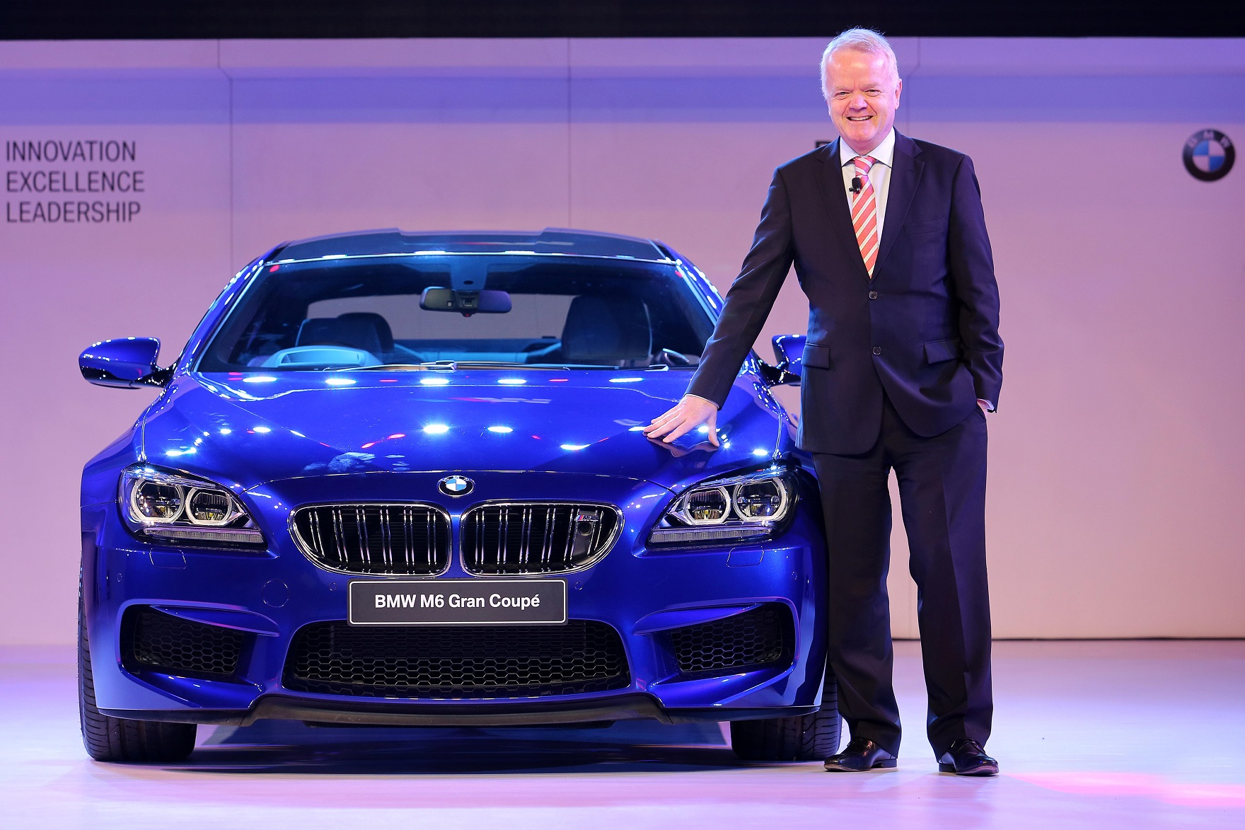 Philipp Von Sahr President BMW Group India With The All New M6 Gran