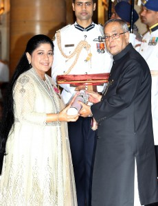 TAFE Chairman & CEO – Mallika Srinivasan conferred Padma Shri award