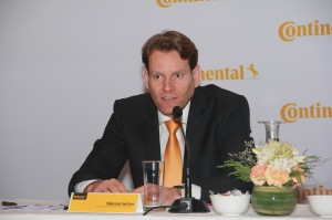 Nikolai Setzer, Head - Tyre Division and Member of the Executive Board of Continental
