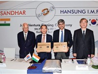 Sandhar inks pact with Han Sung International