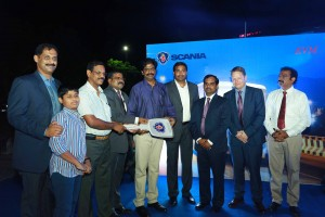 Scania Metrolink buses delivered to Aeon Connect in Kerala