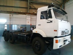 Omax Autos received an initial order of 20 vehicle assemblies from a truck OEM