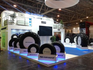 TVS Tyres showcases Tigertrac at Reifen 2014, Germany
