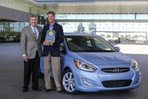 Hyundai Motor Ranks Highest Non-premium in J.D. Power APEAL Study; Accent Ranks Highest in Small Car Segment