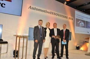 BorgWarner Honoured as Best Supplier in the Powertrain Technology