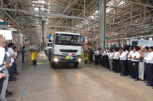 Daimler India Commercial Vehicles starts production of Left Hand Drive FUSO Trucks
