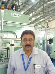 I N Bhattacharya, General Manager (Marketing & Sales), Lakshmi Machine Works