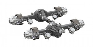 Kenworth Class 8 Trucks available for order with Spicer AdvanTEK 40 Tandem Axle