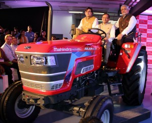 Mahindra launches Arjun Novo tractors