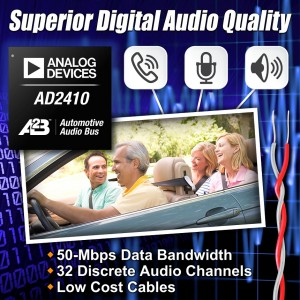 Automotive Bus Technology Delivers Superior Digital Audio Quality