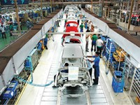 Assembly at Hyundai Motor India