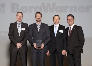 Borgwarner receives Volvo Cars Award of Excellence
