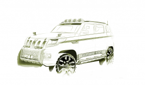 Decked up TUV300