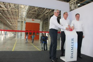 Daimler waves its next phase of growth by inaugurating its bus facility