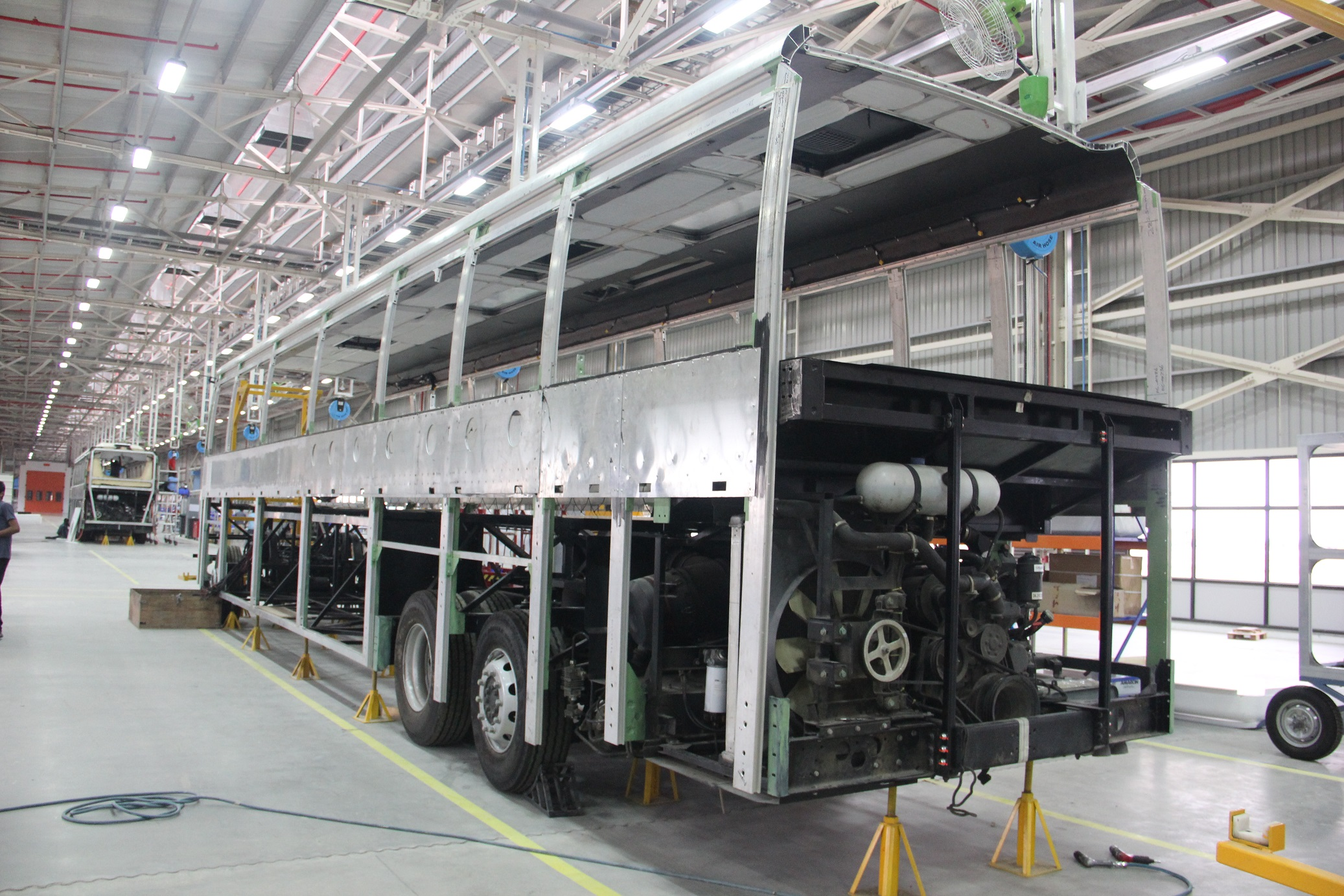 Daimler waves its next phase of growth by inaugurating its bus facility - Auto Components India
