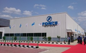 Force Motors inaugurated its new engine plant in Chennai