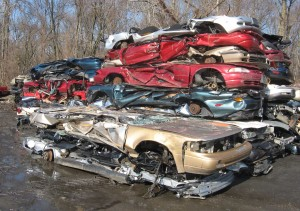 Flattened-cars