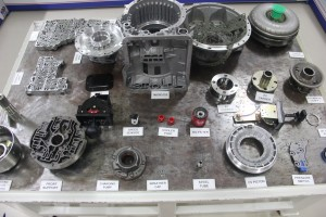 Wide range of components used to assemble a transmission
