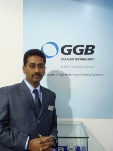 Mahesh Thangamani, India Sales Manager, GGB India
