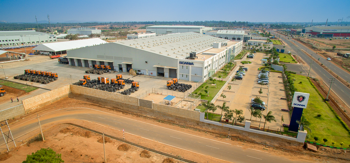 Scania hits bulls eye with its bus production facility in