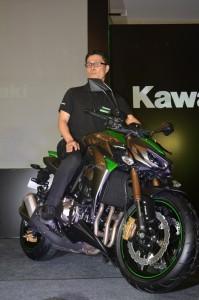 Shigeto Nishikawa, Deputy Managing Director, India Kawasaki Motors Pvt Ltd
