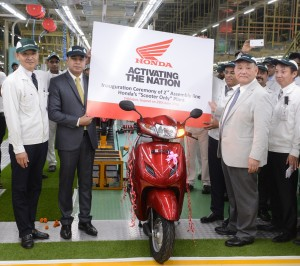 HMSI 2nd assembly line inauguration - Copy