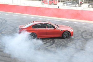02. The BMW M5 in action