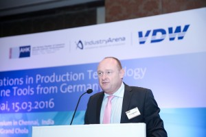 K P Kuhnmuench, Manager General Affairs, VDW