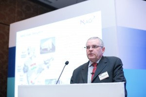 Dr Manfred Berger of MAG IAS gave an insight on new technologies for volume production of engine components