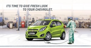 Chevrolet offers the Body & Paint Camp to its customers in India