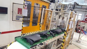 Faurecia has added higher tonnage injection moulding machies at their Maraimalai Nagar plant