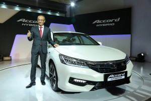 Honda launches the all-new Honda Accord Hybrid in India