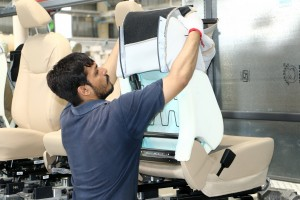 Sanand plant supplies complete seat systems to Ford India and supplies in just-in-time sequence