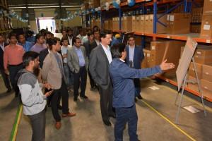 Nissan West Region Parts Distribution Centre at Chakan, Pune