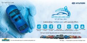 Hyundai Motor India organizes Winter Car Care Camp from Dec 15-20