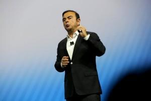 Nissan CEO Carlos Ghosn announces breakthrough technologies at CES 2017