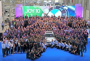 BMW Chennai plant completes 10 years of production excellence