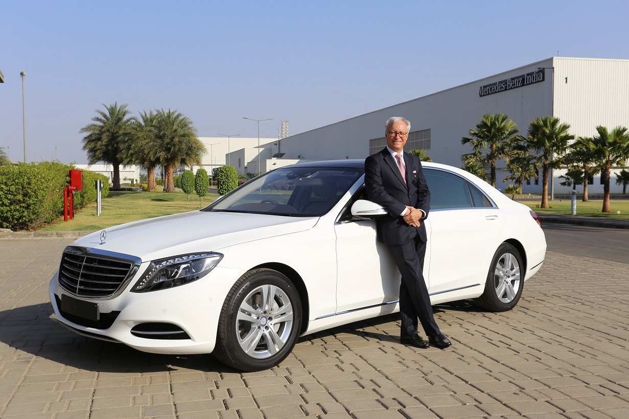 Mercedes benz india launches s class connoisseur s edition for Mercedes benz ceo