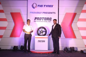 TVS Tyres launches 'PROTORQ' radial tyres for motorcycles