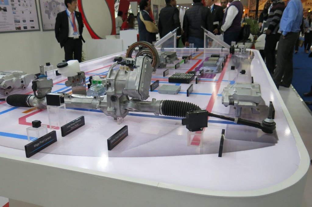 Hitachi Automotive Systems' autonomous and electrification products