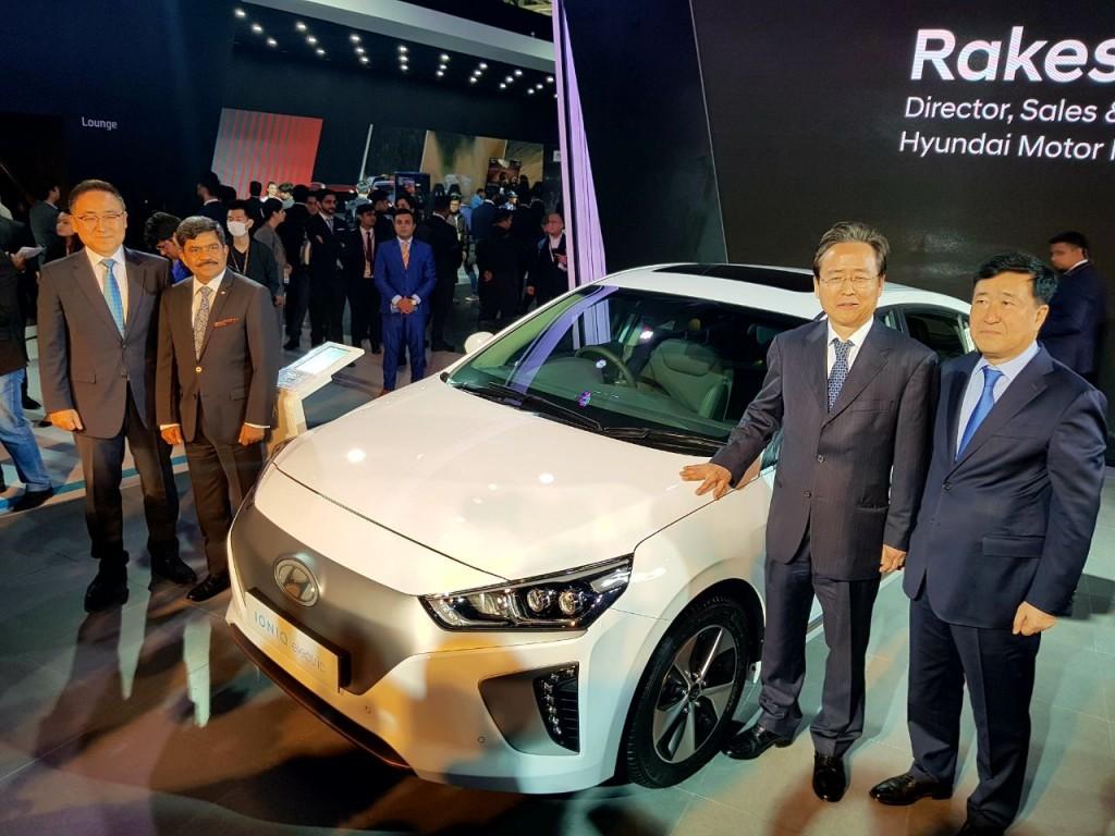Hyundai's Global Electric Tech Marvel IONIQ