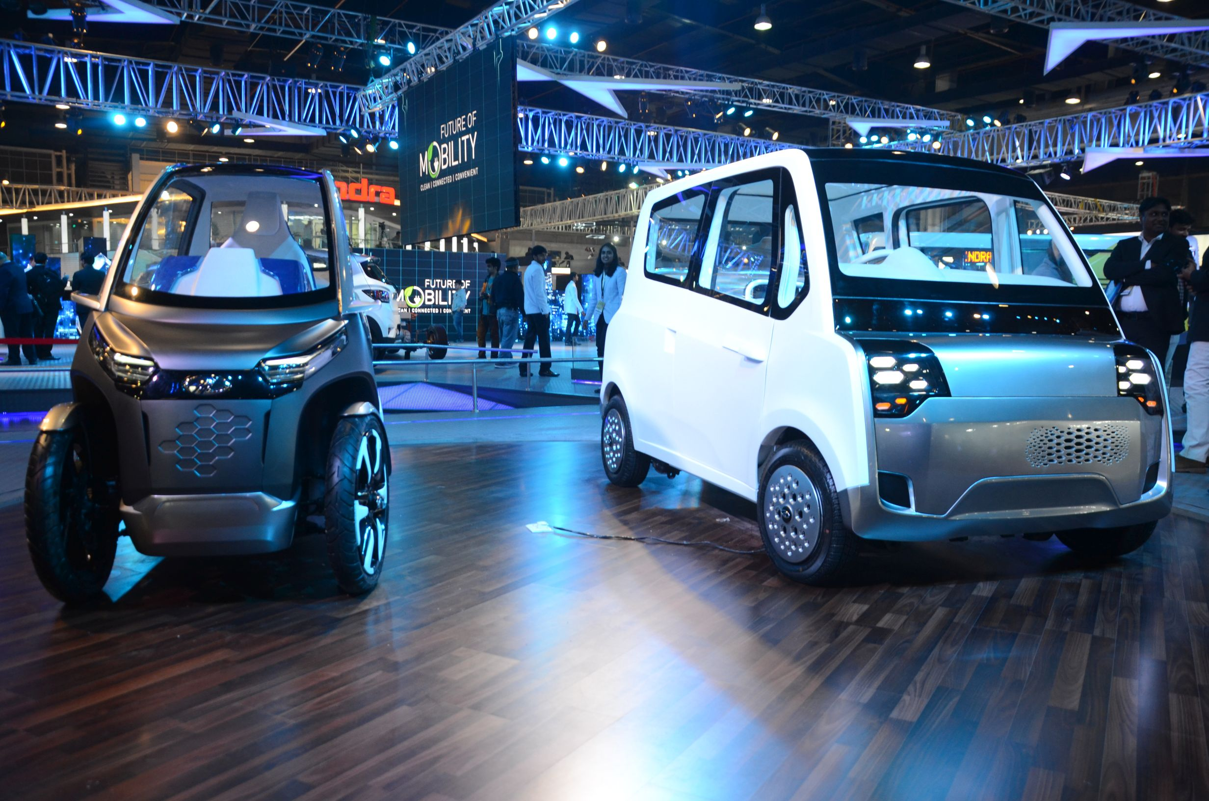 Mahindra Showcases The Future Of Mobility At Auto Expo