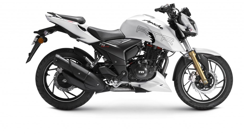 TVS Apache RTR 200 4V with ABS