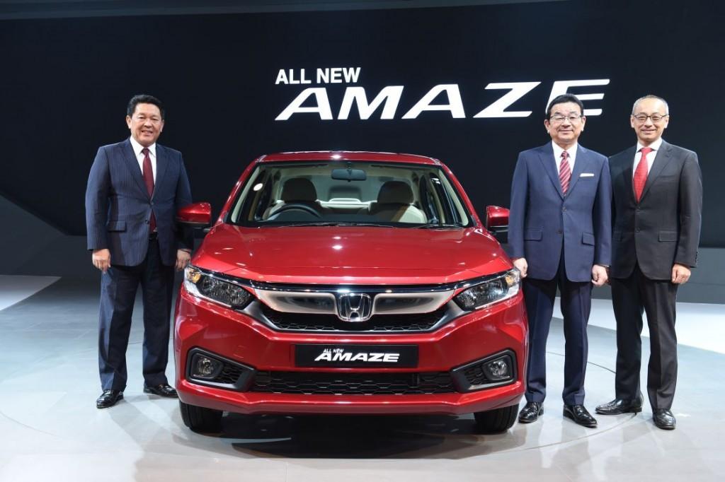 Global Unveiling of Next Generation Honda Amaze at Auto Expo 2018