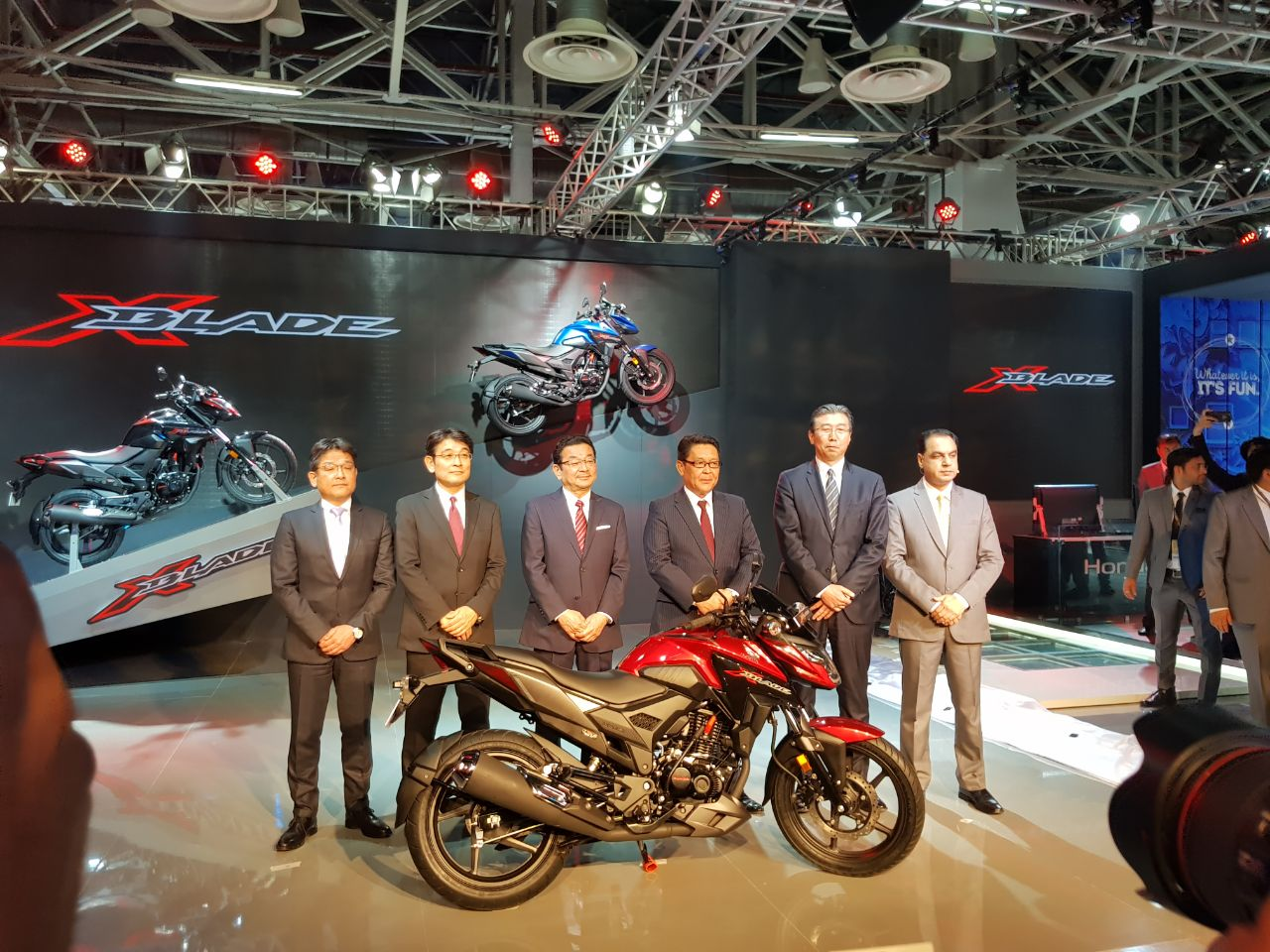Hondas Brand New 160cc Motorcycle X Blade