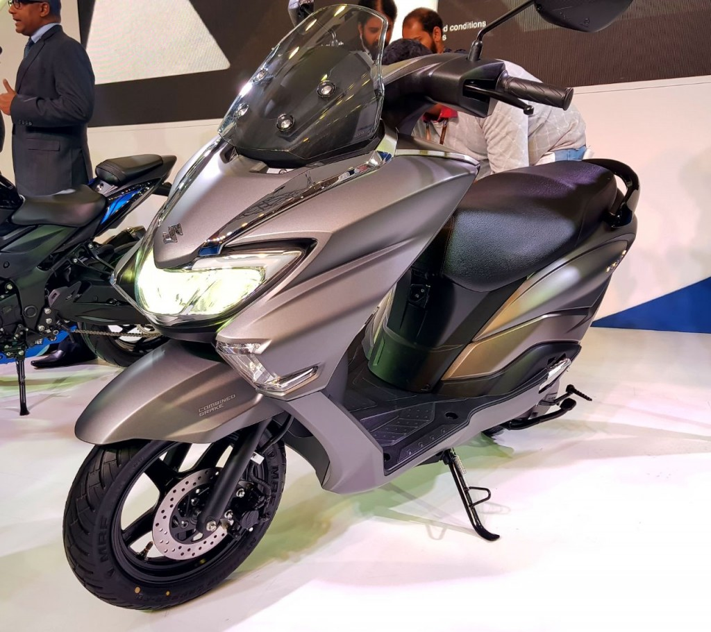 Suzuki Motorcycle India unveils Burgman Street scooter